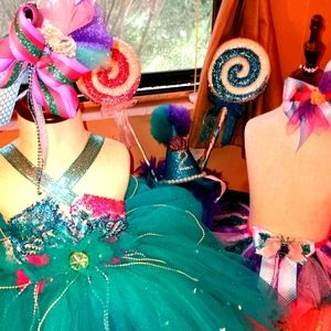 Mermaid Birthday tutu dress!  Custom you pick!